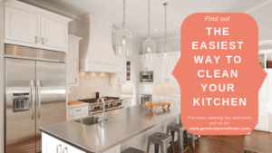 THE SMART WAY TO CLEAN YOUR KITCHEN